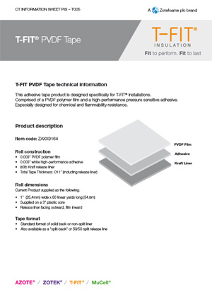 T-FIT Tape datasheet
