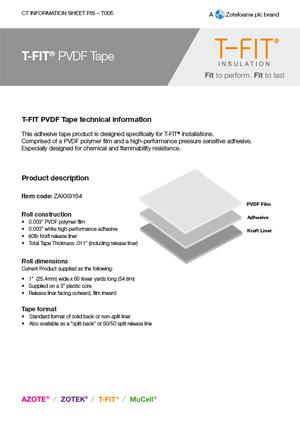 T-FIT Tape datasheet