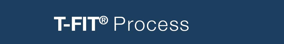 T-fit Process Logo